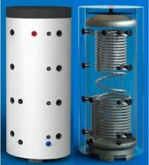 HAJDU PT 1000 CF буферные накопители с теплообменником и контуром ГВС